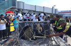 两只大熊猫飞抵沈阳 登机前心理疏导落地后悉心安抚