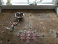 万枚硬币铺成地板