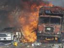 索马里首都发生恐怖袭击 目击者:整个地面在震动