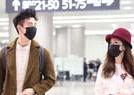 娄艺潇与男友现机场