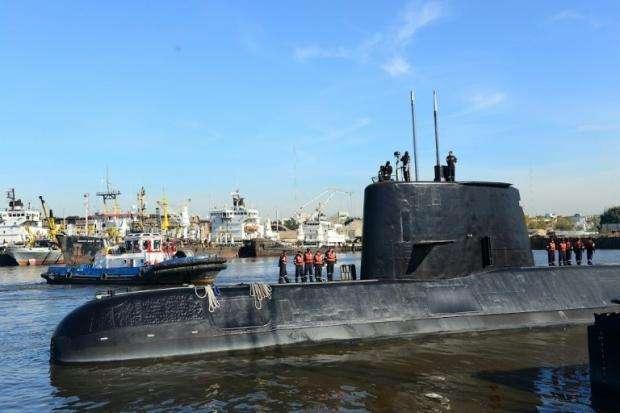 阿根廷军方确认潜艇失联海域曾发生爆炸