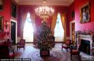 白宫圣诞节内部装饰