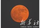 全球围观超级月亮