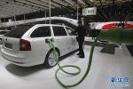 沈阳首个大型新能源汽车智能充电桩群投入使用