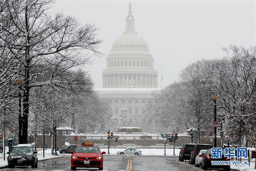 雪中华盛顿