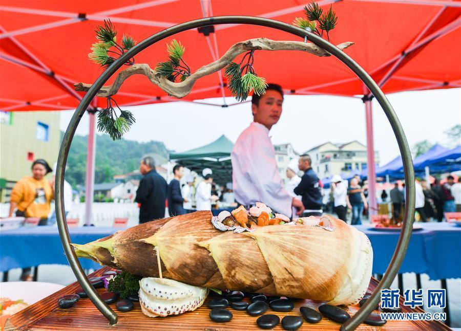 百笋宴展示竹文化
