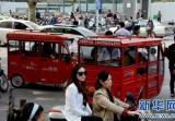 驻马店市西平县150余辆非法营运三轮车被销毁
