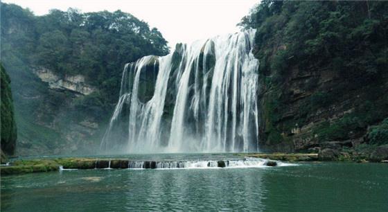 壮观!黄果树瀑布流量达今年入汛最大