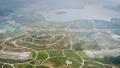 """郑州市区这个公园有7座""""山峰""""是由建筑垃圾和弃土堆建"""