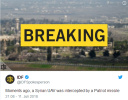 以色列使用爱国者导弹击落一架来自叙利亚的无人机