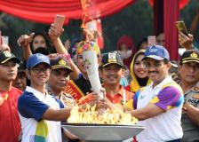 """""""永恒之火""""·文化之旅——雅加达亚运会火炬传递综述"""