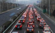 长假最后一天,省全路网出口车流约260万辆,这些路段流量大!