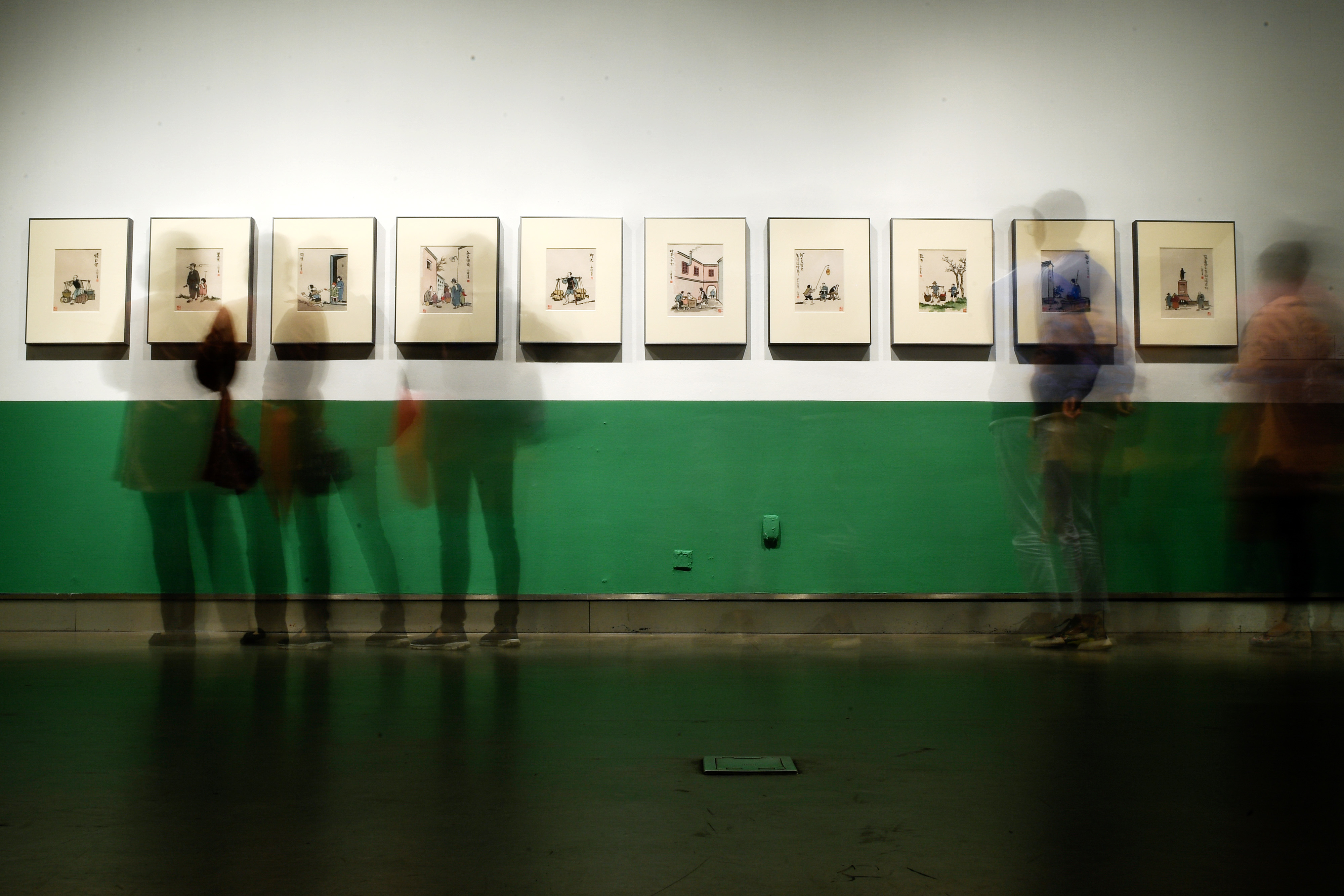 丰子恺诞辰120周年回顾展在杭州开幕