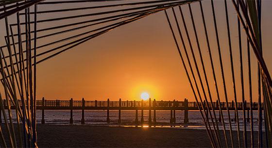 河北:海上日出