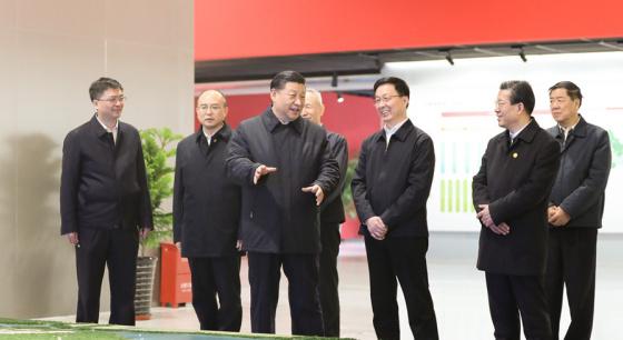习近平在京津冀三省市考察并主持召开座谈会