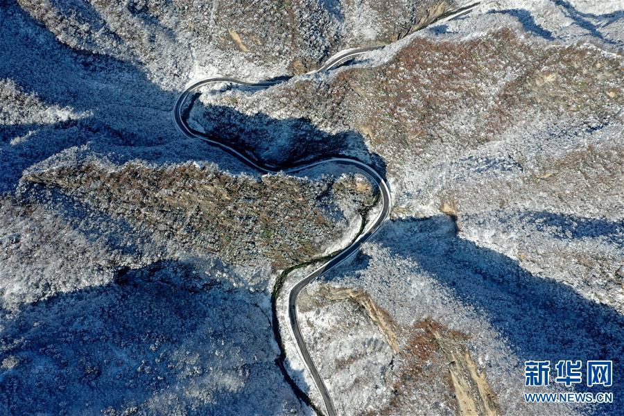 (环境)(3)雪后豫西 风景如画