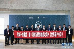 黄(渤)海候鸟栖息地(第一期)正式列入《世界遗产名录》