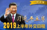 一图读懂|习近平主席2019上半年外交日程 ????