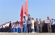 河南社旗:公祭革命烈士 汲取信仰力量