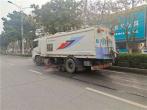"""漯河开启冬季道路洒水看""""天""""作业模式"""