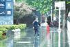 """武汉昨日风雨雷电""""疯狂""""刷屏 今转晴气温重回30℃"""