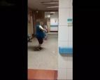 济南大妈医院走廊跳起广场舞