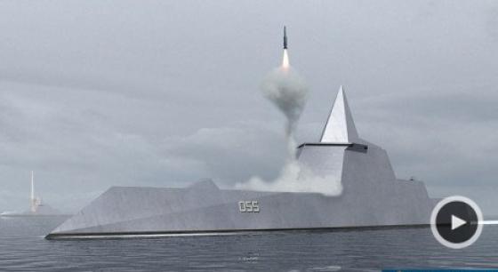 外媒:中国在建055驱逐舰火力冠绝全球