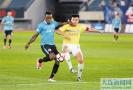 中甲联赛第12轮 大连一方队主场憾平上海申鑫
