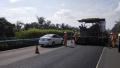 不封路 零废弃 G98海南环岛高速龙桥至中原段路面中修完工