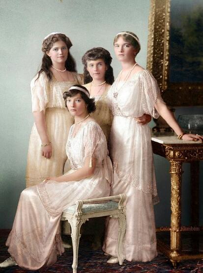 红颜薄命:被秘密处决的4位美丽的沙俄公主
