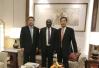 王祥明会见加纳共和国副总统马哈茂杜▪巴武米亚
