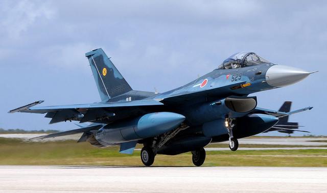 应对中国军舰?日本F2战机将配国产超音速导弹