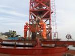 魚山大橋再創世界之最 直徑5米的鋼管複合樁成功澆築
