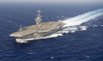 美航母打击群开赴中东 欧洲发布72小时空袭预警