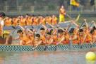 @南京人 周末可去石头城遗址公园看龙舟赛