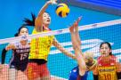 世联赛-中国女排不敌塞尔维亚 澳门站1胜2负