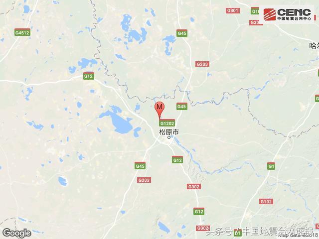 北京赛车计算方法如下:吉林松原市宁江区发生3.7级地震