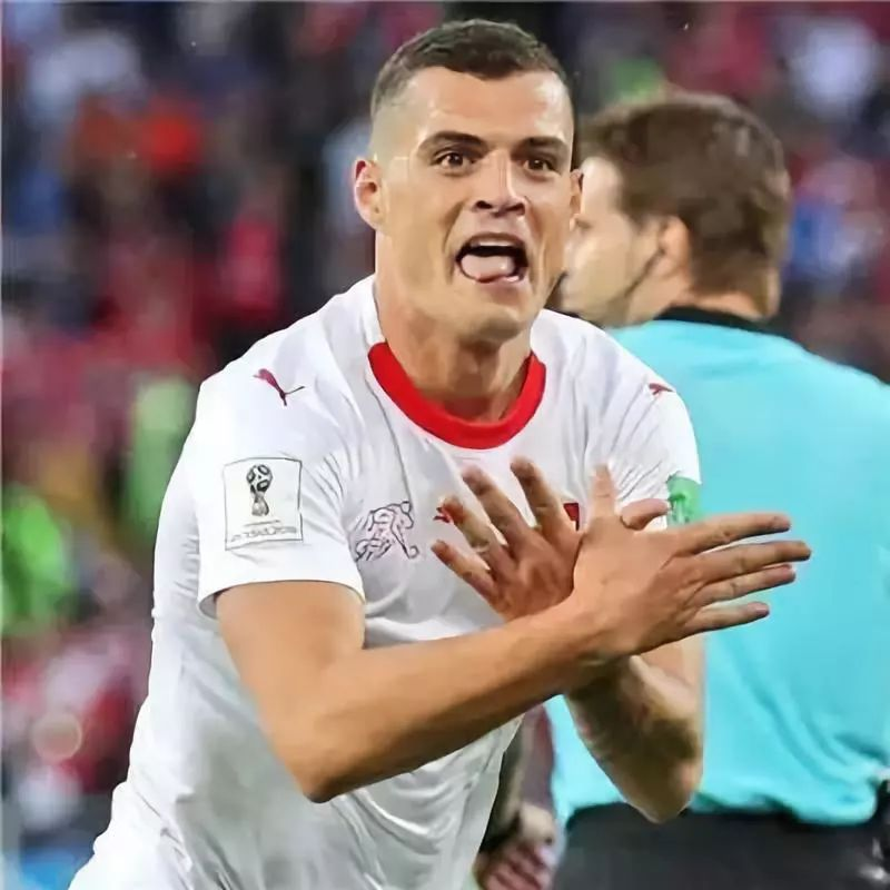 瑞士队的这个庆祝动作 让世界杯没能躲过政治