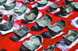 """500件""""江口沉银""""精品亮相国家博物馆 文物进京24小时未离开警方视线"""