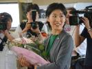 年仅31岁!日本全国最年轻女町长赴任履新(图)