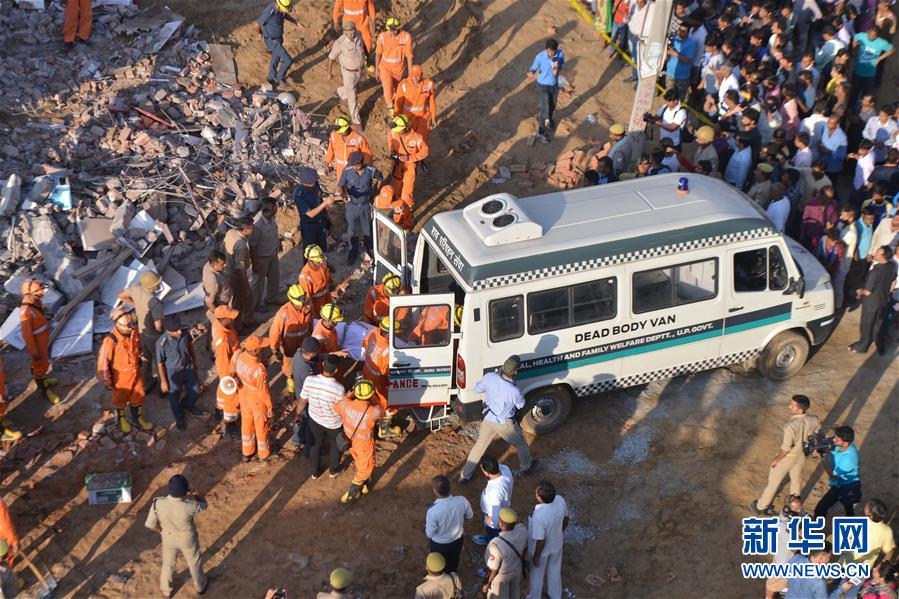 印度楼房倒塌致2人死亡