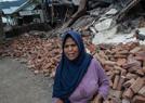 龙目岛地震灾区