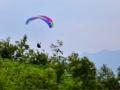真的是比翼双飞!杭州一对滑翔伞夫妻出战亚运
