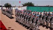 苏丹 中国维和工兵荣获联合国勋章