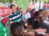 南乐县司法局开展扫黑除恶宣传活动