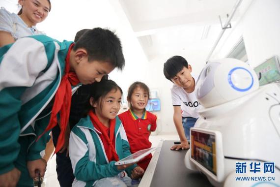 河南滑县:乡村小朋友 科技大梦想
