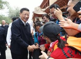 开创富民兴陇新局面——习近平总书记在甘肃考察引发热烈反响