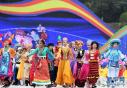 第十一届全国少数民族传统体育运动会民族大联欢活动在郑州举行