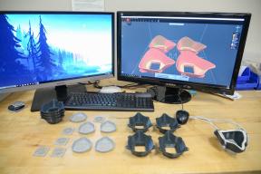 美军F-35部队用3D打印自制N95口罩 45小时造了4个