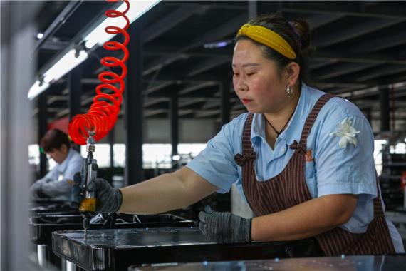 河南光山:在家门口就业增收